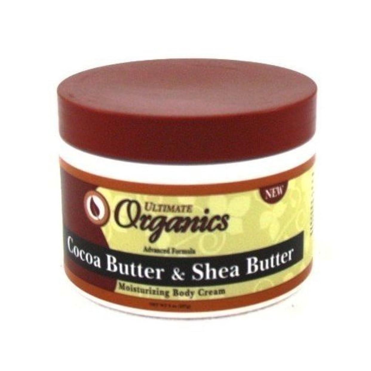 テロリスト弁護人特異性Ultimate Organics Cocoa Butter & Shea Butter Body Cream 235 ml (並行輸入品)