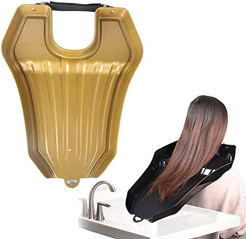 Hair Washing Tray,Portable Mobile Hair Shampoo Basin, Hair Wash Bowl in Bed...
