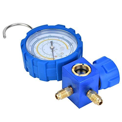 Krümmeranzeige für Klimaanlagen, Kollisionsschutzwerkzeuge G1 / 4 für Kühlsysteme, Klimaanlagen-Kühlwerkzeug, R410A für R22
