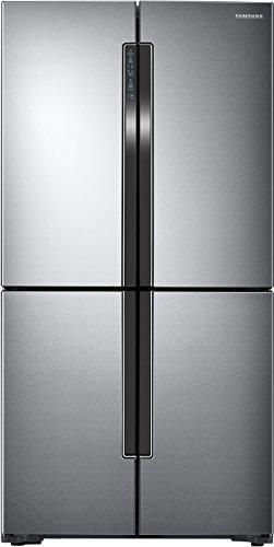Samsung 693 L Frost Free Side-by-Side Refrigerator(RF60J9090SL/TL, Silver, Convertible, Inverter Compressor)