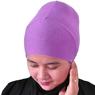 Hijab Turban Bun Underscarf Chemo Cap Volumizer Hair Loss Cotton Lycra