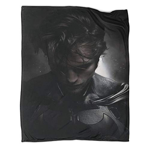 Blanket for Young People Robert Pattinson Batman Soft Blankets and Throws for Bed/Sofa 30x40inch(80x100cm)