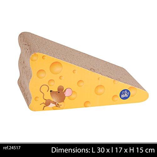 Griffoir forme fromage pour Chats