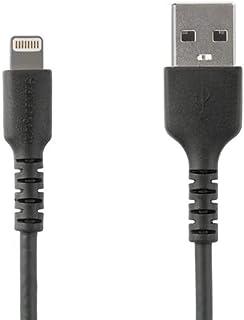 كابل USB إلى لايتنينج شديد التحمل لهاتف آيفون والآيباد من ستارتيك كوم 6ft RUSBLTMM2MB