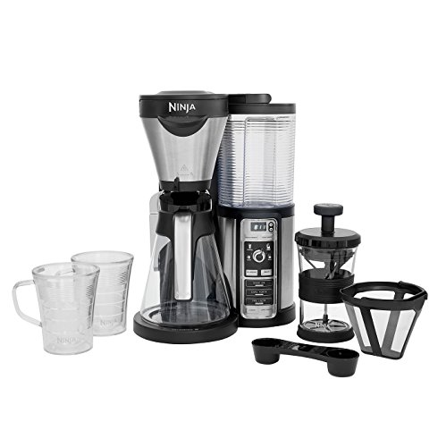 Ninja CF060UK Coffee Bar Auto-IQ Brewer with Glass Carafe