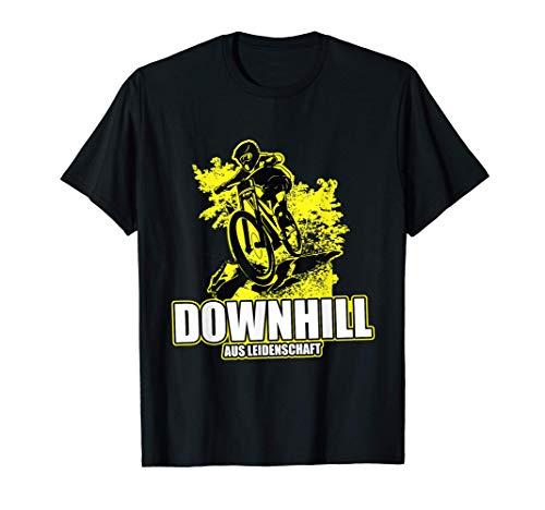 Downhill Bike Mountain Outfit Geschenk MTB T-Shirt