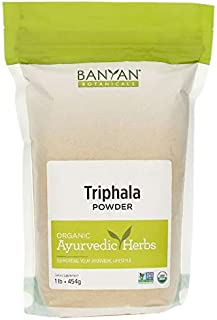 Sponsored Ad - Banyan Botanicals Triphala Powder – Organic Formula of Amla, Haritaki & Bibhitaki – for Daily Detoxifying, ...