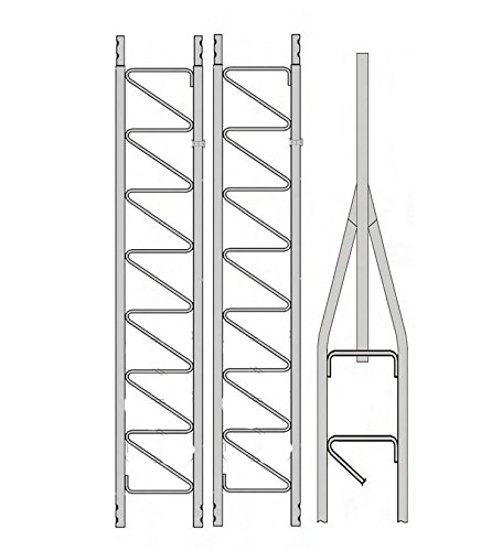 Rohn 25G Series 30' Basic Tower Kit by Antenna Parts Outlet. Compare B077Z6FBWT related items.