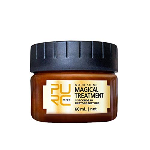 Acondicionador Deep Hair Repair Mask hidratante, sin nutrientes, acondicionador alisador para mejorar la humedad del cabello vitamina