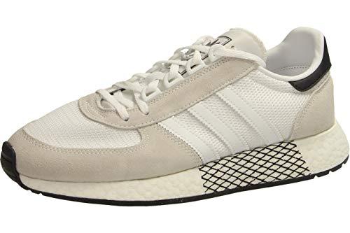 adidas Zapatillas Marathon Tech para hombre., color Blanco, talla 44 EU