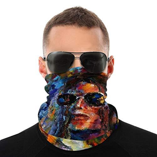 Michael Jackson Variedad bufanda cara máscara magia Headwear cuello Polaina cara Bandana bufanda