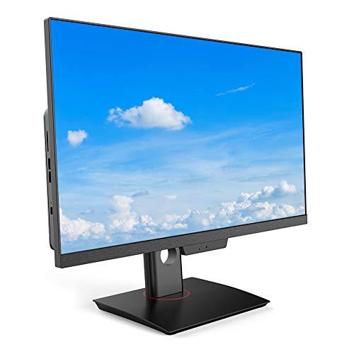 Computer Desktop all ‑ in ‑ One HD da 23,8 Pollici, Schermo LCD LED i7‑3520M, Computer Desktop 1920 x 1080P, SSD da 256 GB, Window7, videocamera con Microfono incorporata(Bianca)