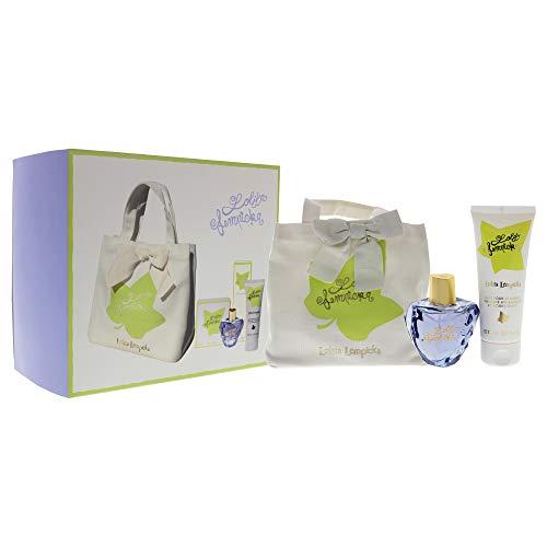 Set 3 Pieces 2020 Lolita Lempicka Eau De Parfum Mon Premier Parfum Spray 50ml / Body Lotion 75ml / Bag