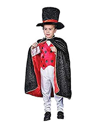 Dress Up America Halloween Mago De Lujo Juego de Disfraces para niños, 3-4 años (Talla: 66-71, Altura: 91-99 cm) (232-T)