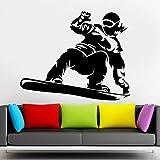Snowboarder Extreme Sport Ski Wall Sticker Art...