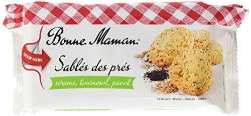 Bonne Maman Cookies mit Butter, Sesam ,Mohn & Sonnenblumenkerne (1 x 150 g)