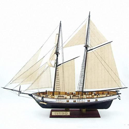 SIourso Maquetas De Barcos Kits De Construcción Maquetas De Montaje Velero De Madera Clásico Modelo Harvey1847 Modelo De Madera A Escala