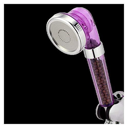 Ducha del baño Cabezal de ducha iónico Handheld, 3 modos de ducha de baño, ajustable, cabezal de ducha de hidromasaje, baño de agua para ahorro de alta presión, boquilla de spa de ducha de filtro Duch