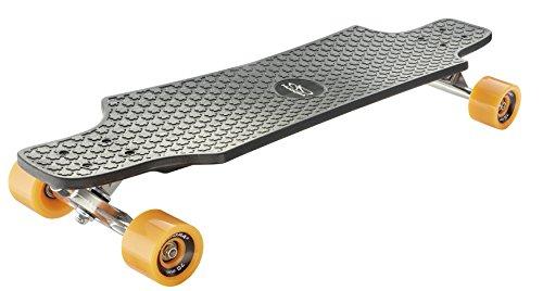 HUDORA Skateboards Longboard Fun Cruiser, schwarz - ABEC 7 - Skateboard - 12713