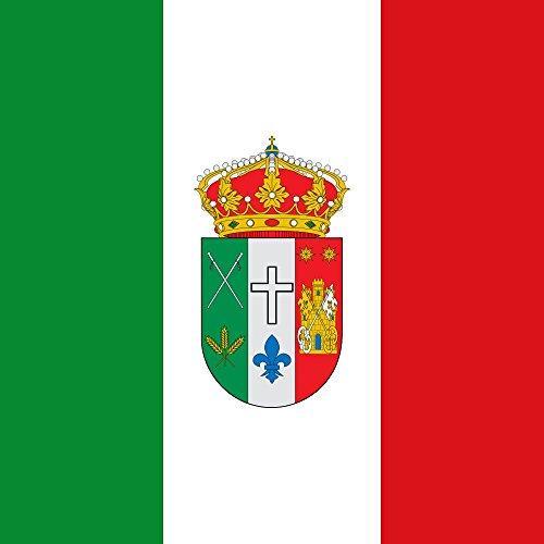 magFlags Bandera Large Municipio de Saldaña de Burgos Castilla y León | 1.35m² | 120x120cm