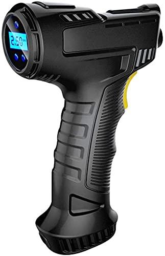 Crimper 50W Coche inalámbrico COMPRESOR DE Aire Handheld USB Recargable Neumático Inflador Digital Pantalla Inflable Bomba de presión Accesorios para automóviles para automóviles Otros inflables