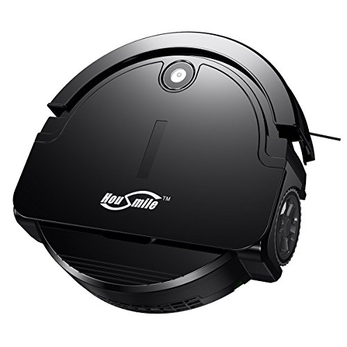 robotic vacuum cleaner with drop-sensing technology