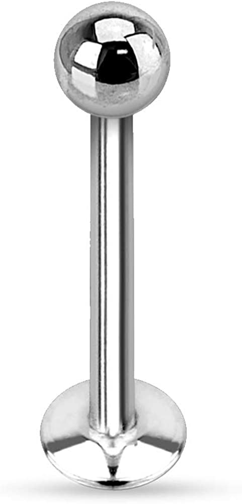 lowest price Dynamique 14g 16g 18g Ball Steel Free shipping / New Inter Surgical 316L Stainless