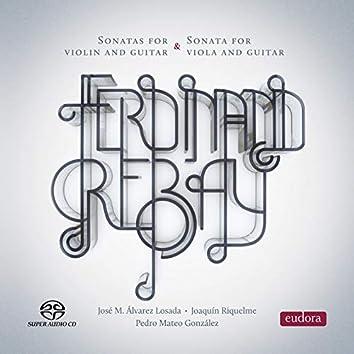 Ferdinand Rebay: Violin and Guitar Sonatas - Viola and Guitar Sonata