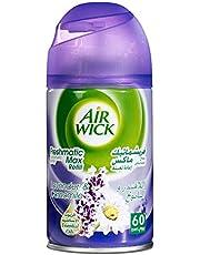 Airwick Ricariche per Profumatore per Ambienti Spray Automatico Freshmatic, Confezione da 1 Ricarica, fragranza Lavanda in Fiore - Ricarica da 250 ml