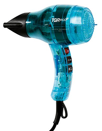 Veleca Paramount TGR ECO XL turquesa translúcida: el secador de pelo de las cerdas perfectas.
