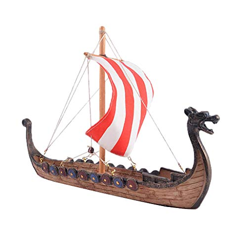 Maquetas de Barcos Vikingos, Cabeza de Dragón Tallada