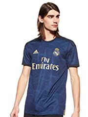 Adidas Camiseta Real Madrid 2a Equipacion 2019/2020 Oficial, Hombre