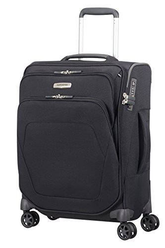 Samsonite Spark SNG - Spinner S (Length: 40 cm) Hand Luggage, 55 cm, 43 Litre, Black