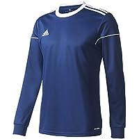 adidas Squad 17 JSY LS Camiseta de Manga Larga, Hombre, Azul (Azuosc/Blanco), M