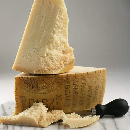 igourmet Italian Parmigiano Reggiano Cheese 24 Month Top Grade - 1/8 Wheel (10 pound)