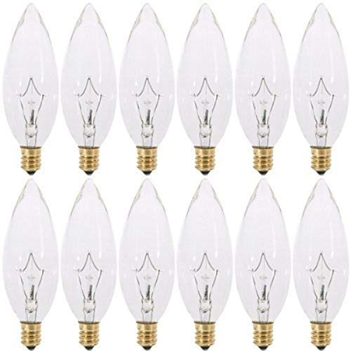 e12 Base Incandescent Light Bulb - 8