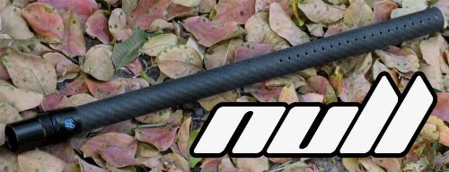 "Deadlywind Null - Tippmann 14"" - Carbon Fiber Paintball Barrel - Fits A5, X7, Phenom, Crossover, BT4"
