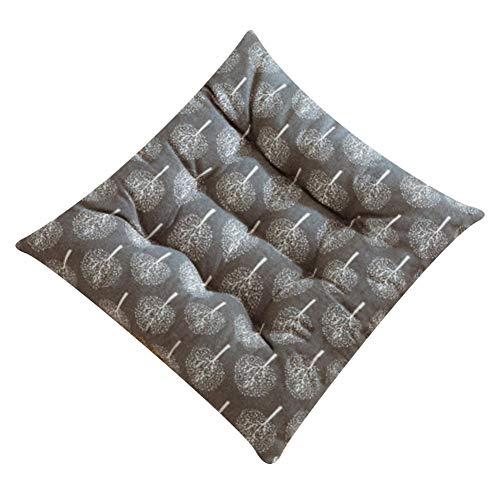 Vinkkatory - Cojín cuadrado de verano para silla acolchada de primera calidad, cojines suaves, para uso en interiores y exteriores, cojín para alivio de presión, ideal como oficina más gruesa., style3