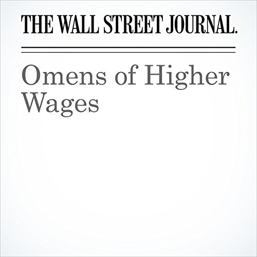 Omens of Higher Wages copertina