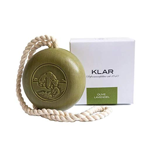 Klar Seifen Haar- Körperseife Olive und Lavendel, 250 g