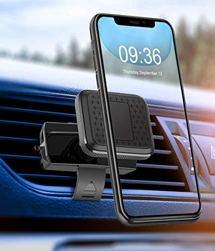Cocoda Handyhalterung Auto, Magnetische Lüftung Handyhalter fürs Auto mit Doppelklemme, Universale 360° Drehbare KFZ Handyhalterung Kompatibel mit iPhone 11 Pro/Xs Max/ 8/7, Samsung Galaxy S20 Plus