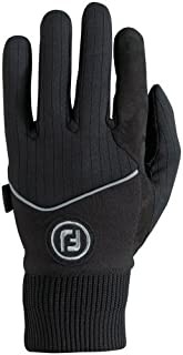 FootJoy WinterSof Golf Gloves (1 Pair) (Black, 2XL)