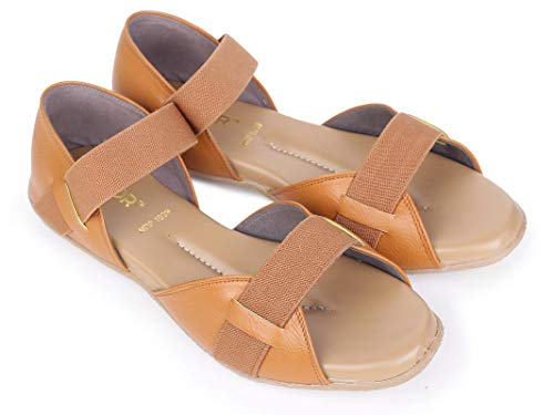 DOCTOR EXTRA SOFT Orthopedic and Diabetic Sandals for Women Tan