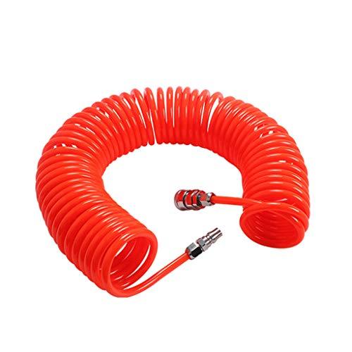 PULABO 6M 19.7 pies 8 mm x 5 mm flexible PU manguera de retroceso tubo para compresor aire herramientas nuevo lanzado exquisito