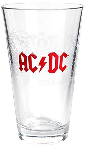 """AC/DC \""""Black Ice\"""" Wasserglas, 0,3l"""