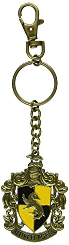 The Noble Collection Hufflepuff Crest Key Chain