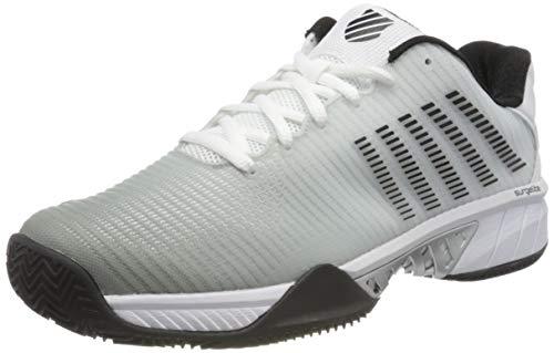 K-Swiss Herren Hypercourt Express 2 Hb Sneaker, White/High-rise/Black, 43 EU