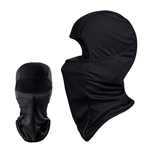 QINGLONGLIN 2 Pack Balaclava - Windproof Mask Adjustable Face Head Warmer for Skiing, Cycling, Motorcycle Outdoor Sports