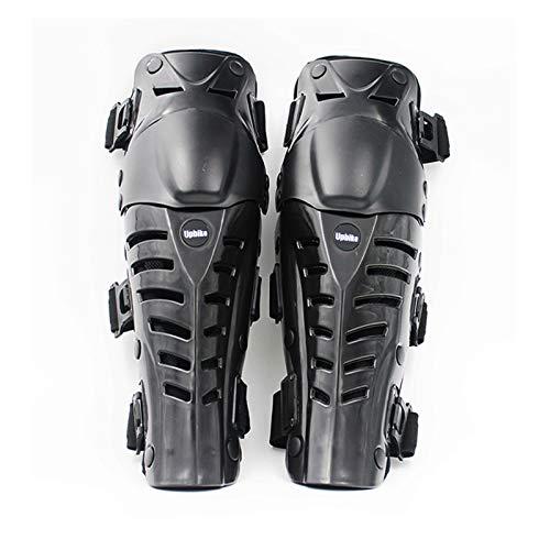 LXF JIAJU Guardias De La Rodilla De La Motocicleta Rodilla De Protección contra La Rodilla Hard Respirable Motocross Racing Adulto Armadura Rodilla Protección