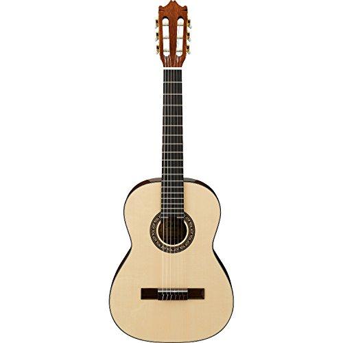 Ibanez G10-3Q-NT Konzertgitarre mit Savarez Nylon 6-Saiter Classic Korpus 3/4 Größe/massiver Engelmann Fichtendecke